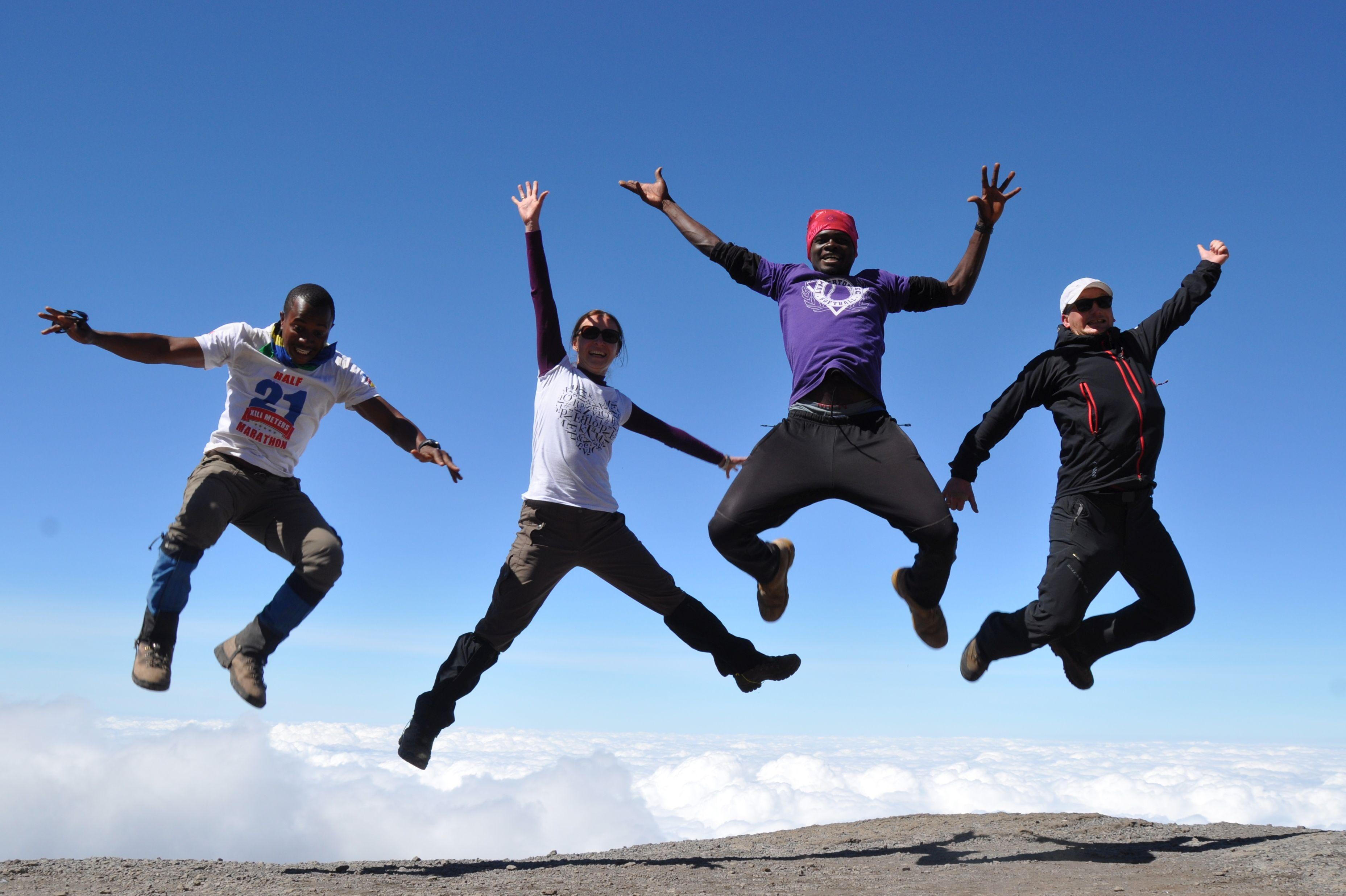 Climbing Kilimanjaro -- With Safari Heroes