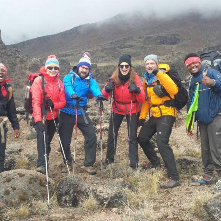 7 Days Lemosho Route Kilimanjaro Trek